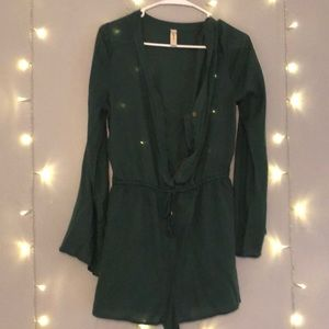 ★ Army green romper short size M